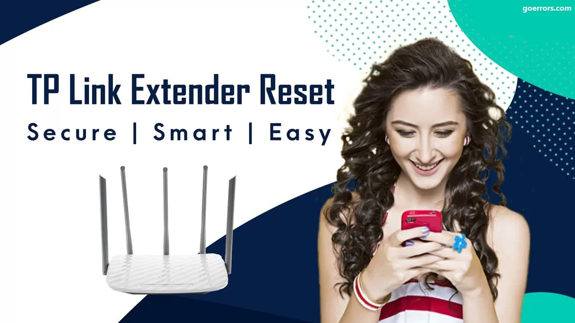 How to reset the tp-link extender